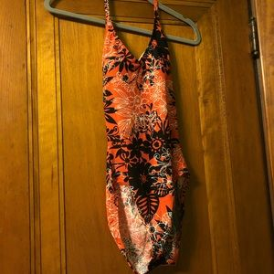 One piece bathing suit!